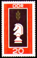 № 378, DDR, 1969 год