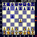 From Gameloft, 2004. It is the mobile version of the chess program with the same name for PC which has been sold by circulation more than 5 million copies!