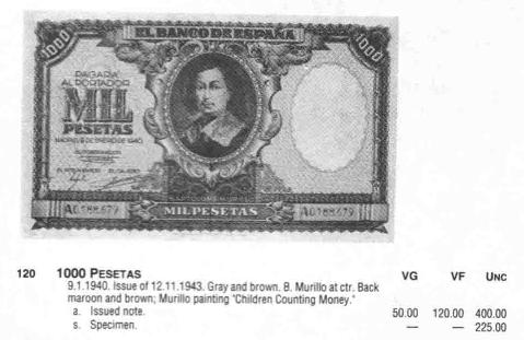 Standard catalog of WORLD PAPER MONEY. 1368-1960.